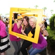 Melissa Santiago, from left, Brenda Mariani and Kathy Eagleton at Veuve Clicquot at Brasserie 19