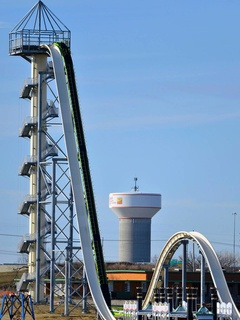 World's tallest waterslide