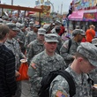 News, Shelby, soldiers pour in, Rodeo Armed Services Day, March 2014