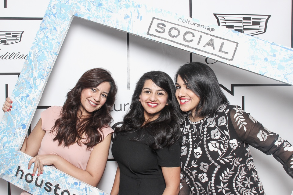 Smilebooth at CultureMap spring social March 2015