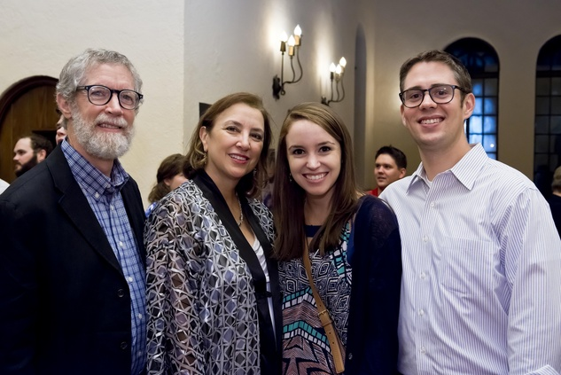 Dr. Peter McLaughlin, from left, Dr. Didi Garza, Kaitlin McLaughlin and Kevin Necas at the Camp for All event September 2014