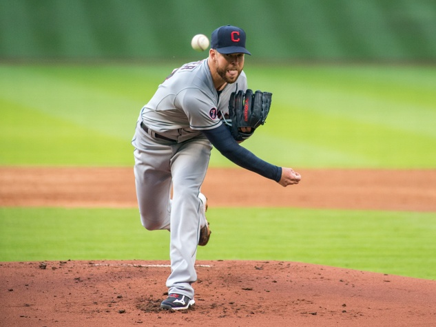 Astros Kluber pitch