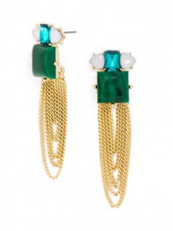 Draped Niagra Studs  - Megan Runser - As Good As Gold
