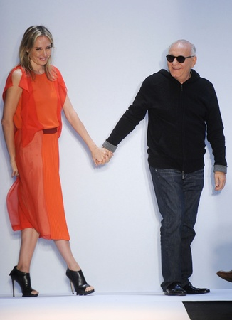 Max Azria, Lubov Azria, Mercedes-Benz Fashion Week, February 2012