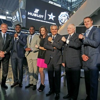 Charlotte Jones Anderson, Jason Garrett, Dez Bryant, Jason Witten, Jerry Jones, Demarco Murray, Tyrone Smith, ricardo guadalupe, dallas cowboys, hublot