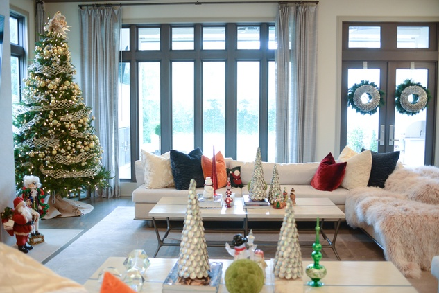 News, Shelby, Kappa Holiday Home Tour, December 2014