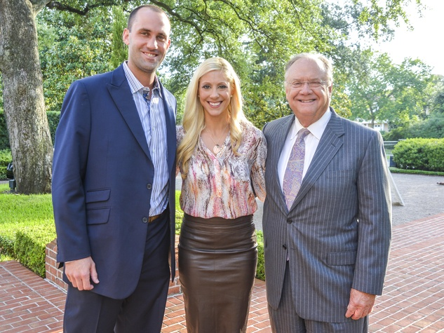 5 DePelchin Children's Center Gala kickoff Matt Schaub and Laurie Schaub, Charlie Hartland