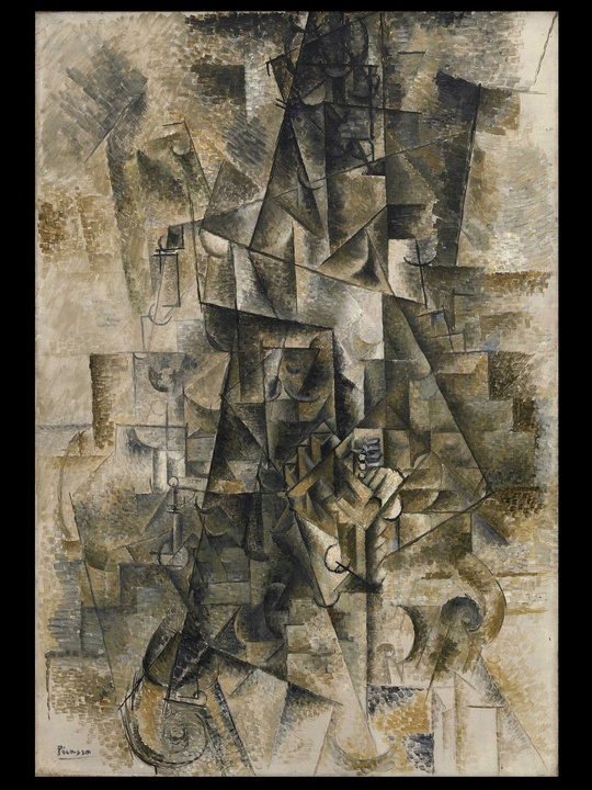 MFAH, Picasso, Accordionist