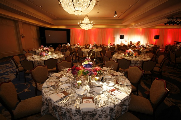 The venue at Masterpiece Evening April 2014