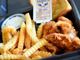 chicken tenders, Zaxby's
