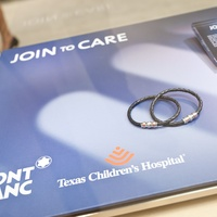 News_TCH_Montblanc event_February 2012_Texas Children's Hospital bracelets