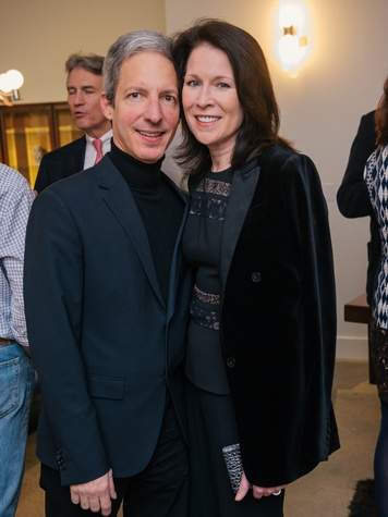 4 Craig Lidji and Delise Ward at the Lynn Goode Vintage opening reception March 2014