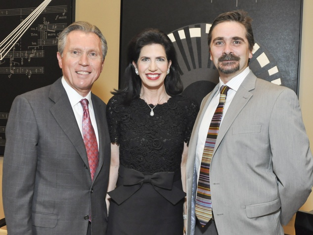 001, Houston Ballet Ball kickoff party, October 2012, Martin Fein, Kelli Cohen Fein, Stanton Welch
