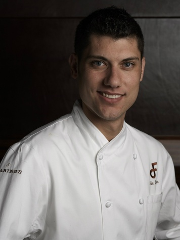 Chef Eric Dreyer of Fearing's restaurant in Dallas