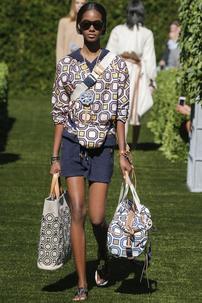 Tory Burch spring 2018 look 33