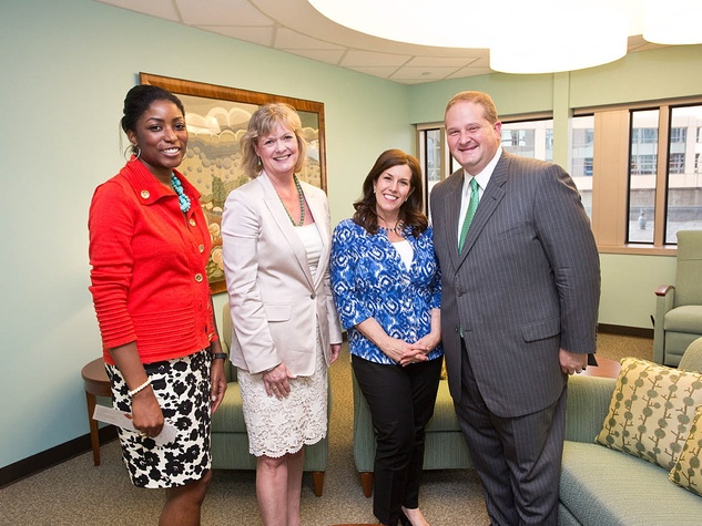 ... Anderson Children's Cancer Hospital ribbon cutting. Photo by F. Carter
