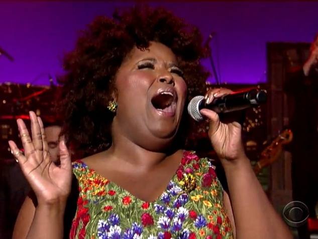 Kam Franklin of The Suffers on Letterman