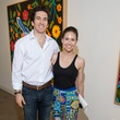 Michael and Rachel Osburn, affair of the art kickoff