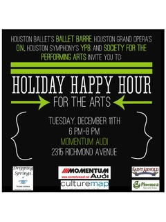 Holiday Happy Hour for the Arts 2013