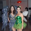 Jill Shull, left, and Cynthia Jones at the Brasserie 19 Halloween party October 2014