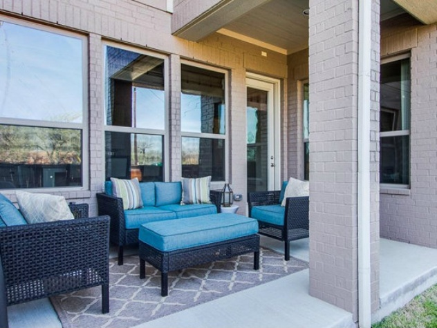 Porch at 2272 Longwood Dr. in Carrollton