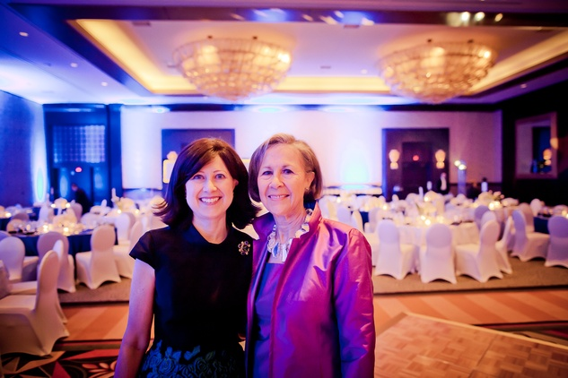 28 Sarah Rabinow Pesikoff, left, and Kathryn Rabinow 2 at the Planned Parenthood Gala October 2014