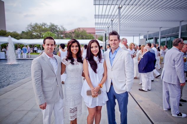News, Shelby, Hermann Park Conservancy, Evening in the Park, April 2015, Divya and Chris Brown, Vivi Robertson, Christopher Robertson