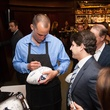 Owen Daniels, celebrity dinner, Houston Texas, September 2012, Matt Schaub