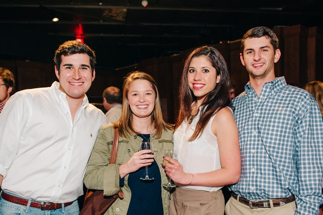 News, Shelby, Museum of Natural Science Catalyst party, Feb. 2015, Colton Robey, Julia Russell, Stephanie Bardwil, Turner James
