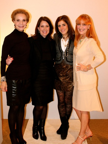 18 Leisa Holland Nelson, from left, Julie Phillips Roberts, Laura Max Nelson and Gracie Cavnar at the Recipe for Success' Dress for Dinner