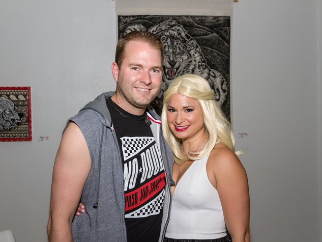 2952 Michael and Lauren Reeder at Party Like a Rock Star benefiting Planned Parenthood August 2014