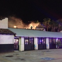 Bikinis Sports Bar & Grill The Woodlands fire August 2013
