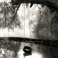 Bayou City Art Festival, emerging artists, March 2013, Amanda Schilling, Tire Swing