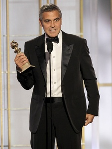 News_Golden Globes_January 2012_George Clooney