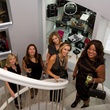 Tuula Carnahan, Marisela Hudgeons, Natalie Gunderson, Laura Cook, Bella Eni at Theresa Roemer's party in her closet