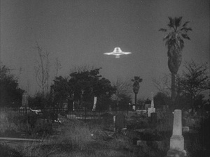 Plan 9 from Outer Space, spaceship, UFO