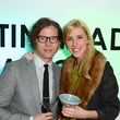 270 Will Walsh and Lindsey George at the Craft Museum Martini Madness party January 2015