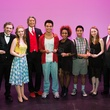 Tommy Tune Awards 2014 Stephen Louis, Emily Lewis, Tommy Tune, Nyles Washington, Amber Scott, Kyle Legacion, Emily Scott, and John Breckenridge