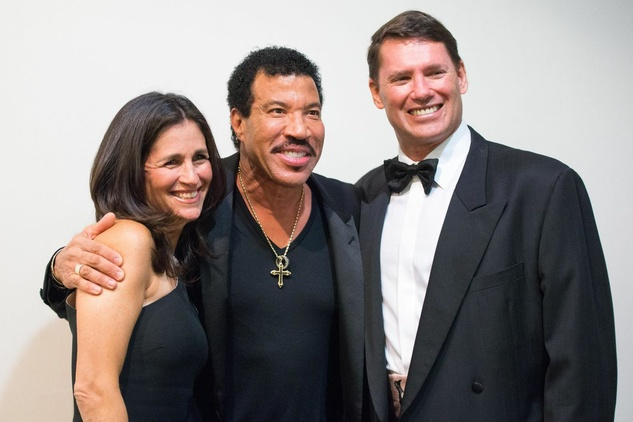 News, Shelby, Houston Children's Charity, Amy Shaper, Lionel Ritchie, Peter Shaper, Nov. 2014