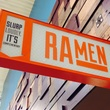 Whole Foods Domain ramen sign