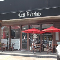 Cafe Rabelais, Exterior, June 2012