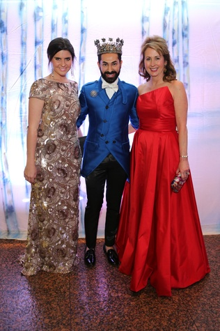 Houston Ballet Ball, Feb. 2016, Name to come, Fady Armanious, Ileana Trevino
