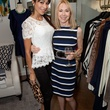 Allesandria Pilegge, left, and Nadine Murphy at the Julie Rhodes Fashion & Home Houston opening party October 2013