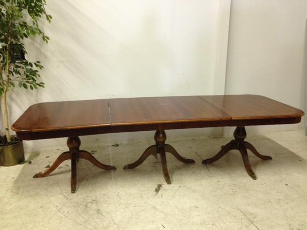 Sharon Bush auction dining table July 2014