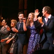 The cast of Beautiful The Carole King Musical starring Jessie Mueller