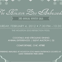 The Houston Zoo Ambassadors Third Annual Winter Gala