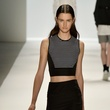 Richard Chai crop top fashion week spring 2014