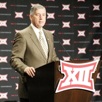 Big 12 Commisioner Bob Bowlsby