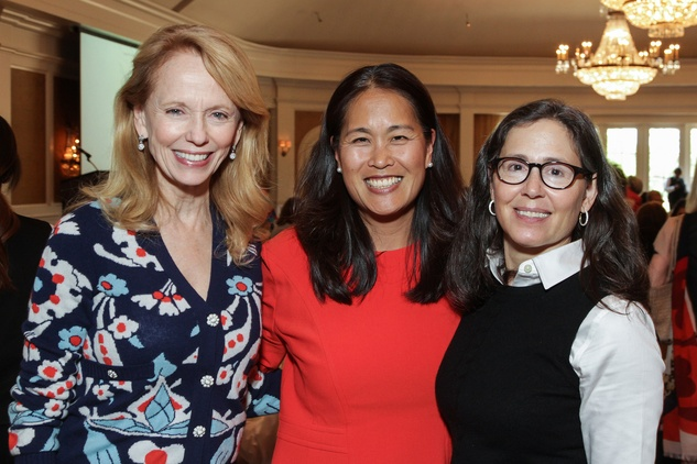 News, shelby, Center for Contemporary Craft luncheon, Susan Sarofim, Grace Kim, Diana Untermeyer