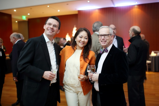 John Bradshaw Birthday Party George Chase, Thuy Tran, Michael Devoll